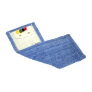 Bandeau rectangle oeillet microfibre pro bleu 40 CM