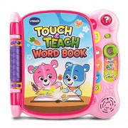 BAYSHORELLP VTech Touch and Teach Word Book Amazon Exclusive, Pink