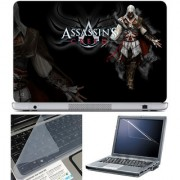 Finearts Laptop Skin 15.6 Inch With Key Guard & Screen Protector - Assassins Creed