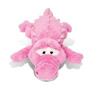 Puzzled XL Pink Alligator Stylish Soft Stuffed Plush Cuddly Animal Toy Pillow - Animals Collection - 33 INCH - Unique huggable loveable New friend Gift - Item #5001