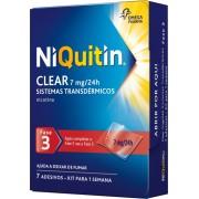NiQuitin Clear Pensos 7mg - Fase 3 - 7 Dias