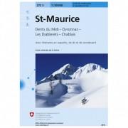 Swisstopo - 272 S Maurice - Skitourgidsen Ausgabe 2007