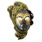 Masca venetiana verde
