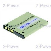 2-Power Digitalkamera Batteri Sony 3.6v 630mAh 2.3Wh (NP-BN1)