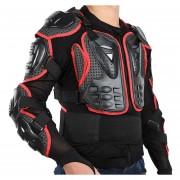 Llena de la motocicleta Body Armour Spine Chaqueta Jack