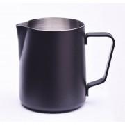 JoeFrex pulvermålad mjölkskumningskanna 350 ml. svart