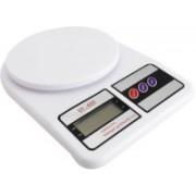Pithadai SF-400 7kg Electronic LCD Kitchen Weighing.Scale Machine Weighing Scale Weighing Scale(White)