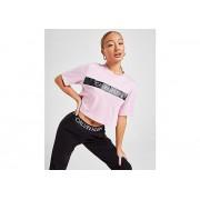 Calvin Klein T-Shirt Crop Tape Femme - XS