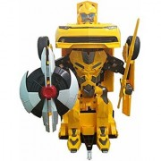 Jojoss Autobots Car converting in Robot with 360 Rotation Multi-color Kid