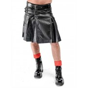 Mister B Leather Kilt Costume 150900