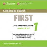 Cambridge English First 1 for Revised Exam from 2015 Audio CDs (2): Authentic Examination Papers from Cambridge English Language Assessment