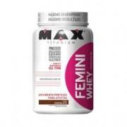Femini Whey 900g Chocolate Max Titanium