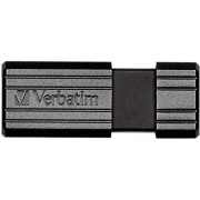 Stick USB 16GB VERBATIM PinStripe USB 2.0, Black