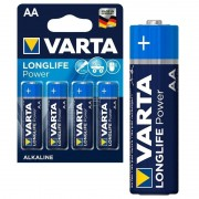 Pilhas AA Varta Longlife Power 4906110414 - 1.5V - 1x4