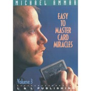 Easy to Master Card Miracles Volume 3 by Michael Ammar video DOW