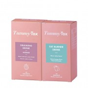 TummyTox Forma Perfecta - Elimina la hinchazón, la celulitis y ayuda a bajar el peso. 15 bebidas de la bebida drenante + 15 bebidas quemagrasas. Para 15 días de uso