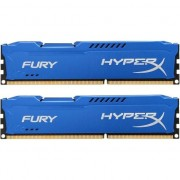 Memorie HyperX FURY Blue 16GB, DDR3, 1866MHz, CL10, 1.5V, kit 2x8GB