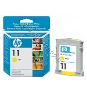 Мастило HP 11, Yellow, p/n C4838A - Оригинален HP консуматив - касета с мастило