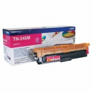 D'origine Brother TN-245 M toner magenta, 2 200 pages, 3,95 centimes par page - remplace Brother TN245M toner