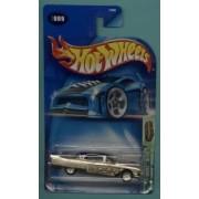 Mattel Hot Wheels 2003 Treasure Hunt 1:64 Scale 1957 Silver Cadillac Eldorado Brougham 9/12 Die Cast Car #009