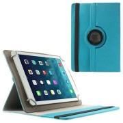 Universele Tablet Rotary Tas 9-10.1 - Baby Blauw