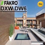 Fereastra circulabila Fakro DXW DW6