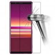 Protetor Ecrã em Vidro Temperado para Sony Xperia 5 - Transparente