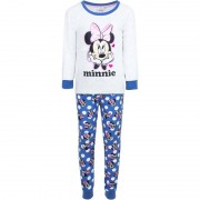 Paw Patrol Witte Disney velours Minnie Mouse pyjama voor meisjes