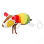Плюшена музикална играчка - Броненосец - BabyFehn, 263663