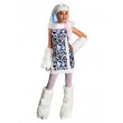 Vegaoo Abby Bominable Monster High-Kostüm für Mädchen