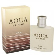 La Rive Aqua Eau De Toilette Spray 3 oz / 88.72 mL Men's Fragrances 539827