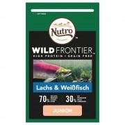 Nutro Wild Frontier Junior за котки със сьомга и бяла риба - 4 x 1,5 кг