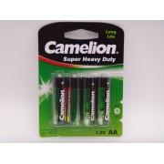 Camelion R6P AA baterie super heavy duty 1.5V blister 4