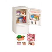 Epoch Sylvanian Family Doll Refrigerator Set Ka-415 (Multicolour)
