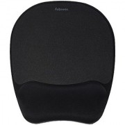 Fellowes Memory Foam Mouse Pad/Wrist Rest Black (9176501)