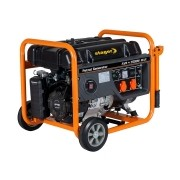Stager - GG 6300W - Generator de uz general, 5 kW, Stager, UP 188, 13 CP, pornire mecanica, benzina fara plumb, protectie suprasarcina, regulator tensiune AVR, voltmetru, contor ore functionare, monofazat