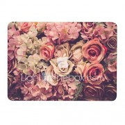 MacBook Hoes voor MacBook Air 13'' MacBook Air 11'' MacBook Pro 13'' met Retina-scherm Bloem TPU Materiaal