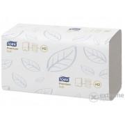 Prosoape de hârtie Tork Premium Interfolded H2, extra alb