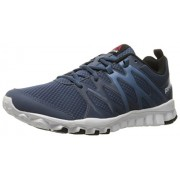 Reebok Men s Realflex Train 4.0 Training Shoe Royal Slate/Slate/White/Black 8 D(M) US