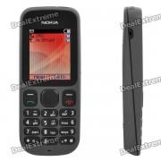 """telefono movil nokia 1010 GSM con pantalla LCD TFT de 1.8 """"? doble SIM? banda dual? FM? reproductor de MP3 y ranura TF - negro"""