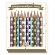 Mini metál színes ceruza