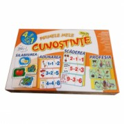 Joc educational 4 in 1 silabisire adunare scadere