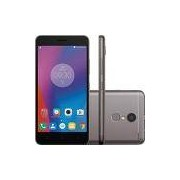 Smartphone Lenovo Vibe K6 Dual Chip Android Tela 5 32GB 4G Câmera 13MP - Grafite