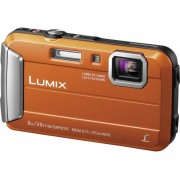 Panasonic DMC-FT30EG-D Digitale camera 16.1 Mpix Oranje Onderwatercamera, Vorstbestendig, Spatwaterdicht, Schokbestendig