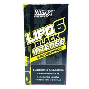 Nutrex Lipo 6 Black Intense Ultraconcentrate 60 Cápsulas