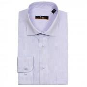 Camasa regular, pentru barbati - alb/violet