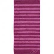 JOOP! Toallas Classic Stripes Toalla de mano Cassis 50 x 100 cm 1 Stk.