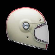 Bell Casco Moto Integrale Bullitt Dlx Command Gloss Vintage White Red Blue