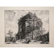 Veduta del Tempio detto della Tosse su la Via Tiburtina un miglio vicino a Tivoli Giovan Battista PIRANESI [ ]