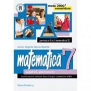 Mate 2000 consolidare. Comper. Matematica. Algebra geometrie. Clasa a VII-a. Partea a II-a Semestrul 2